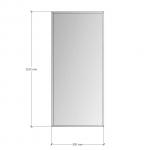 Изображение Зеркало с фацетом 10 мм, 1100 х 500 мм. 1161 - изображение 3