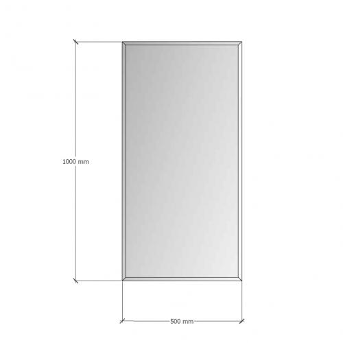 Изображение Зеркало с фацетом 10 мм,  1000 х 500 мм. 1162 - изображение 8