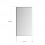 Изображение Зеркало с фацетом 10 мм, 900 х 500 мм. 1163 - изображение 3