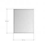 Изображение Зеркало с фацетом 10 мм, 600 х 500 мм. 1165 - изображение 3