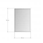 Зображення Дзеркало з фацетом 10 мм, 650 х 450 мм. 1171 - изображение 3
