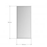 Изображение Зеркало с фацетом 10 мм, 900 х 400 мм. 1175 - изображение 3