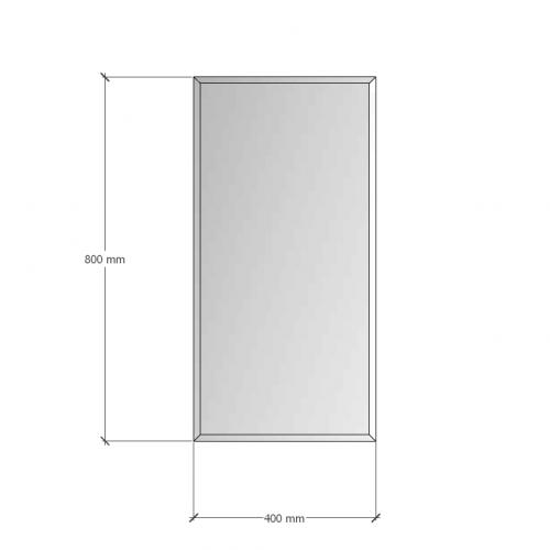 Изображение Зеркало с фацетом 10 мм, 800 х 400 мм. 1176 - изображение 8