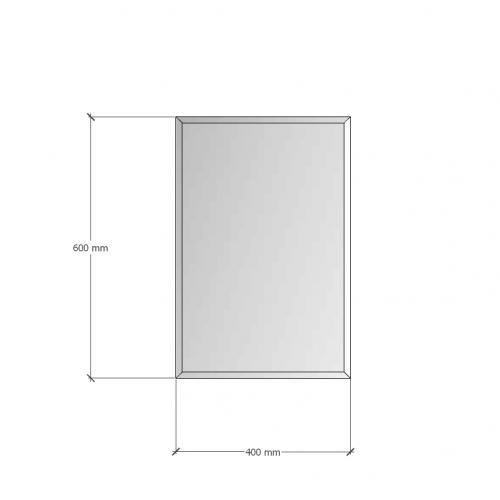Зображення Дзеркало з фацетом 10 мм, 600 х 400 мм. 1178 - изображение 8