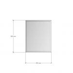 Изображение Зеркало с фацетом 10 мм, 500 х 400 мм. 1179 - изображение 3
