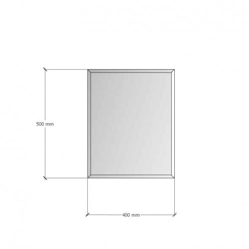 Изображение Зеркало с фацетом 10 мм, 500 х 400 мм. 1179 - изображение 8