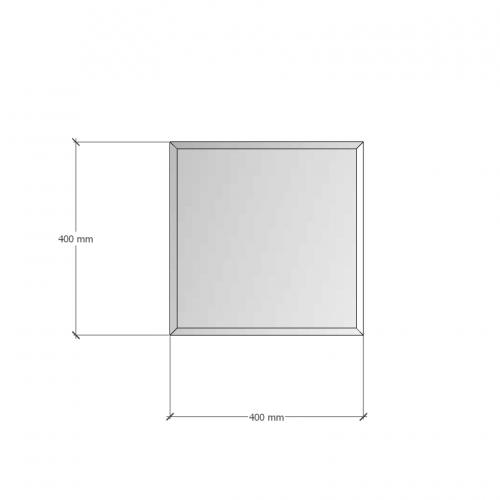 Изображение Зеркало с фацетом 10 мм, 400 х 400 мм. 1180 - изображение 8