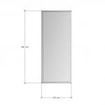 Зображення Дзеркало з фацетом 10 мм, 850 х 350 мм. 1182 - изображение 3
