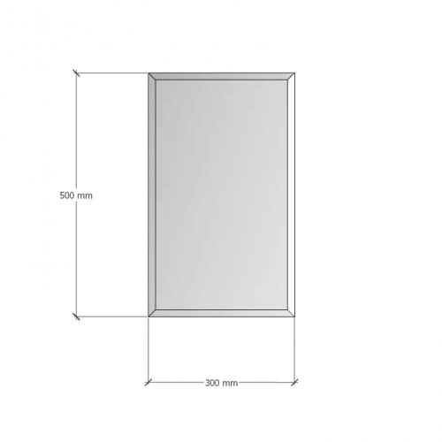 Зображення Дзеркало з фацетом 10мм 500 х 300 мм. 1192 - изображение 8
