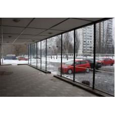 Изображение Цельно стеклянный фасад 05.02.5