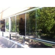 Изображение Фасад с раздвижными стеклами 05.02.9
