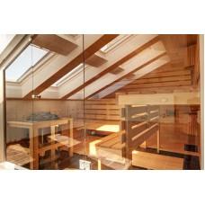 Изображение Фасад в сауне из стекла 05.02.10