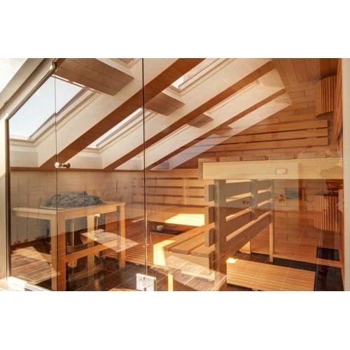 Изображение Фасад в сауне из стекла 05.02.10 - изображение 2