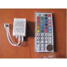 Зображення Контроллер RGB (ІЧ керування) 010.11.39
