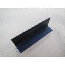 Изображение Уголок алюминиевый (черный) с прирезкой 30х20х1.5 010.2.39