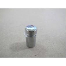 Изображение Крепление стекла дистанционное 12х20 мм хром 010.2.28
