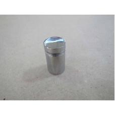 Изображение Крепление стекла дистанционное 19х30 мм хром 010.2.30
