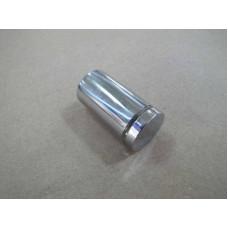 Изображение Крепление стекла дистанционное 25х45 мм хром 010.2.32