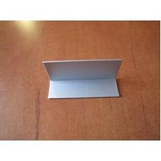 Зображення Кутник алюмінієвий (анодований) з прирізкою 30 х 20 х 1,5 мм 010.2.37