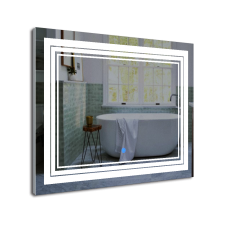 Зображення Дзеркало з LED підсвічуванням і сенсорним вимикачем (на дотик) 600 х 800 мм 02.7.73