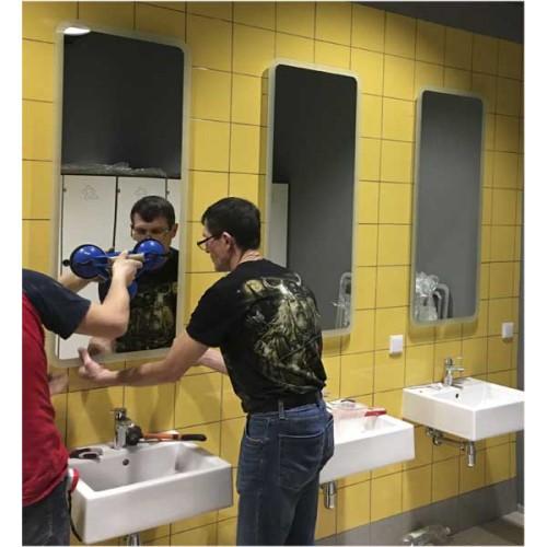Изображение Монтаж зеркал с подсветкой в спортивном комплексе 12.15.12 - изображение 2
