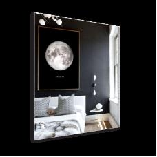 Изображение Зеркало прямоугольное с полированным краем 600 х 500 мм 02.16.32