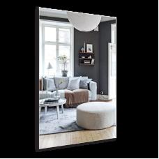 Изображение Зеркало прямоугольное с полированным краем 1000 х 600 мм. 02.16.37