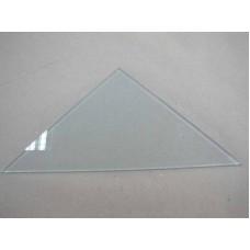 Изображение Полка треугольная из матового стекла толщиной 8 мм. 400х400 011.2.61
