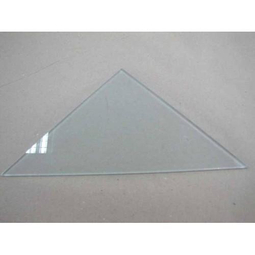 Изображение Полка треугольная из матового стекла толщиной 8 мм. 400х400 011.2.61 - изображение 2