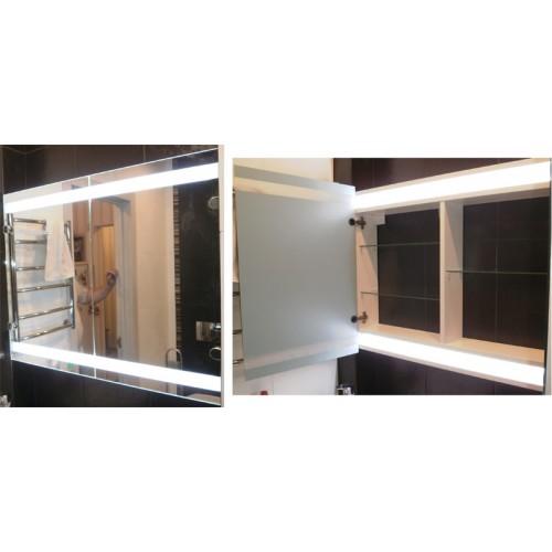 Зображення Шафа у ванну кімнату з LED підсвічуванням 04.08.10 - изображение 2