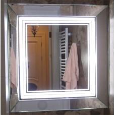 Зображення Шафа у ванну кімнату з LED підсвічуванням 04.08.11