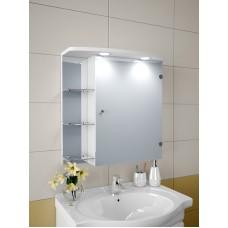 Изображение Шкаф зеркальный, 620х600х125мм 66-S