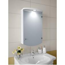 Изображение Шкаф зеркальный, 670х400х125мм 47-S