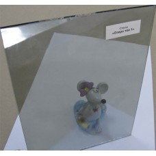 """Изображение Стекло тонированное с напылением """"Озеро"""" тон 1 толщиной 4 мм, оттенок голубой 01.02.17"""