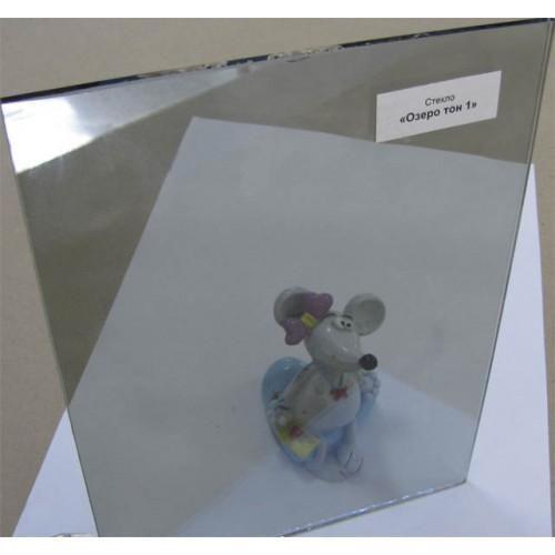 """Изображение Стекло тонированное с напылением """"Озеро"""" тон 1 толщиной 4 мм, оттенок голубой 01.02.17 - изображение 2"""