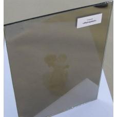 """Изображение Стекло тонированное с напылением """"Империал"""" толщиной 4 мм, оттенок золотой 01.02.19"""