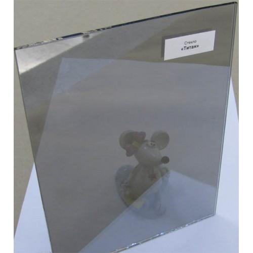 """Изображение Стекло тонированное с напылением """"Титан"""" толщиной 4 мм, оттенок серый 01.02.22 - изображение 2"""