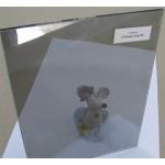 """Изображение Стекло тонированное с напылением """"Титан"""" тон 3 толщиной 4 мм, оттенок серый 01.02.25 - изображение 1"""