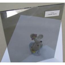"""Изображение Стекло тонированное с напылением """"Титан"""" тон 3 толщиной 4 мм, оттенок серый 01.02.25"""