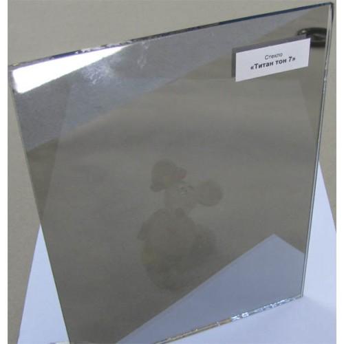 """Зображення Скло тоноване з напиленням """"Титан"""" тон 7 товщиною 4 мм, відтінок сірий 01.02.26 - изображение 2"""