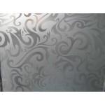 """Зображення Скло візерункове """"Дамас біле травлене"""" 01.3.12 - изображение 1"""