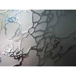 """Зображення Скло візерункове """"дельта біле піскоструйне"""" 01.3.15 - изображение 1"""