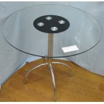 Изображение Стол обеденный WIKTOR хром Д-800х770 мм 03.3.14 - изображение 1