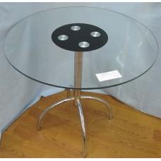 Изображение Стол обеденный WIKTOR хром Д-800х770 мм 03.3.14
