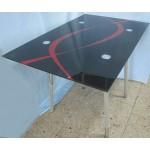 Зображення Стіл обідній TIRAMISU хром 1100х700х760 мм 03.3.15 - изображение 1