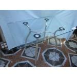 Изображение Стол обеденный CRISTAL хром Д-1100х700 мм 03.3.18 - изображение 1