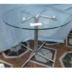 Изображение Стол обеденный KARINA хром Д-800х730 мм 03.3.13 - изображение 1