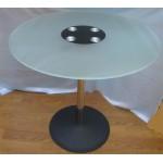 Изображение Стол обеденный LENA хром Д-800х760 мм 03.3.19 - изображение 1