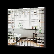 Изображение Зеркало с декоративными накладками 880 х 880 мм. 02.17.49