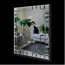 Изображение Зеркало с декоративными накладками 1500 х 800 мм. 052.1
